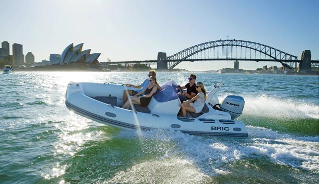 Honda Marine Silniki Zaburtowe łodzie Hybrydowe Brig